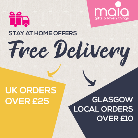Free UK Delivery on all Orders over £25.