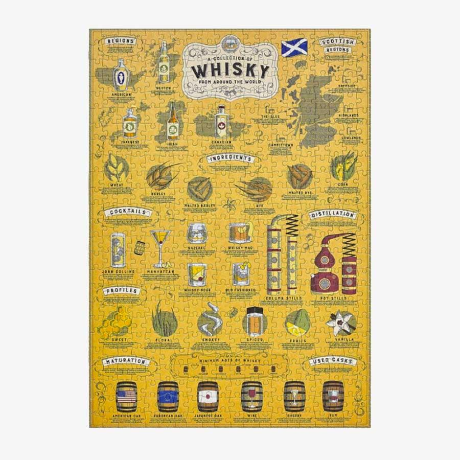 Whisky Lover's Jigsaw Puzzle