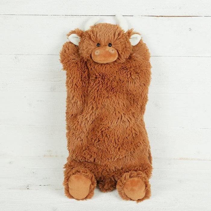 Highland Coo Hot Water Bottle Cover