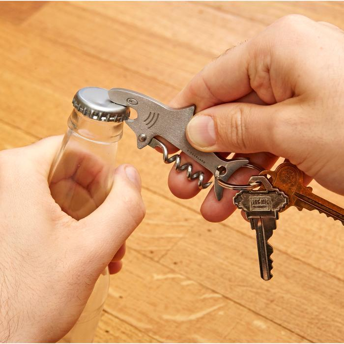 Shark Keyring with Bottle Opener