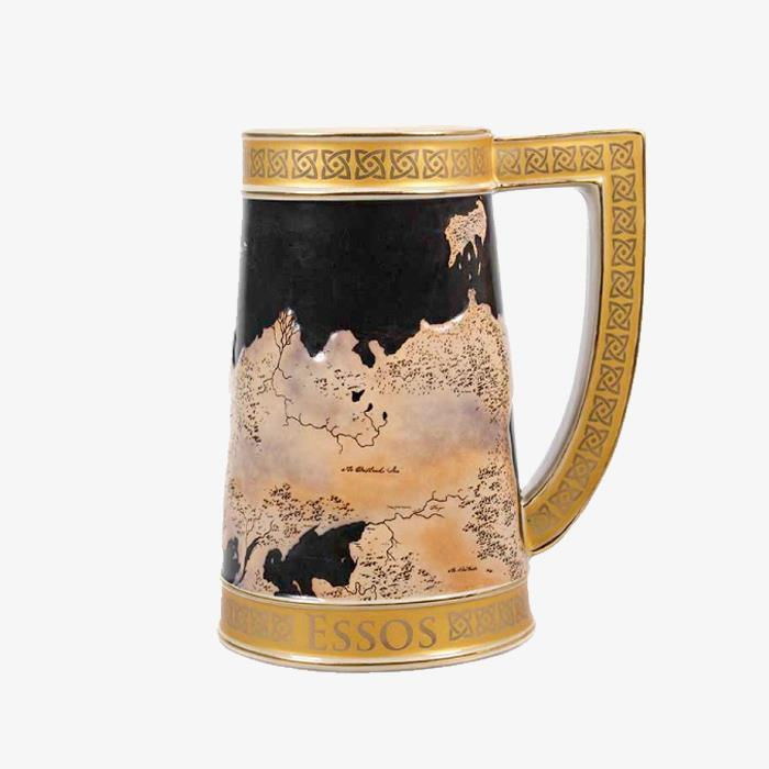 Game of Thrones Westeros Beer Stein Glass