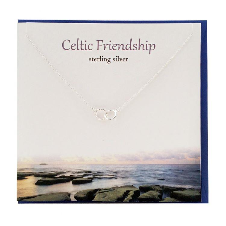 Silver Celtic Friendship Necklace