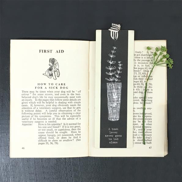 Book Lover Bookmark