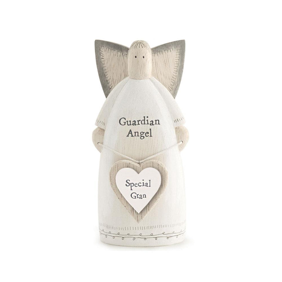Special Gran Guardian Angel Wooden Decoration