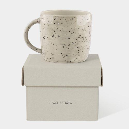 Speckled Wash Boxed Rustic Mug