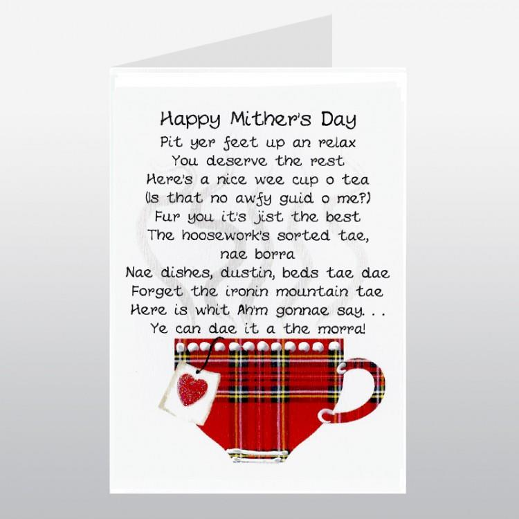 Cup of Tea Mother's Day Card