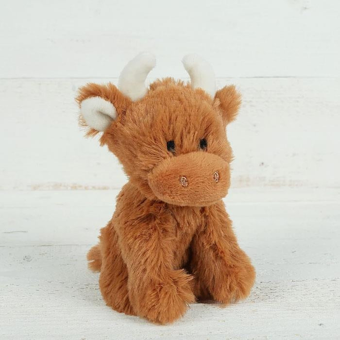 Mini Highland Coo Soft Toy