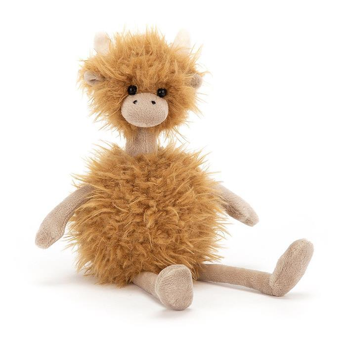 Bonbon Highland Cow Soft Toy