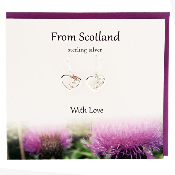 From Scotland With Love Earrings