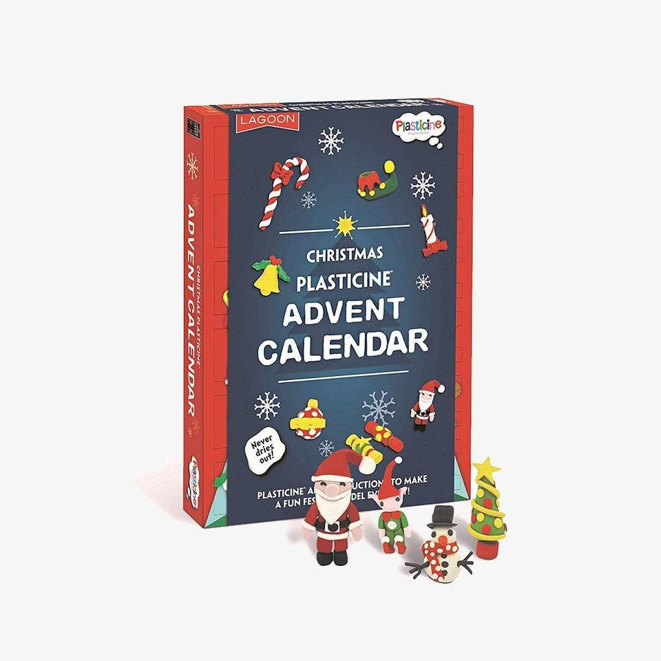 Christmas Advent Plasticine Calendar