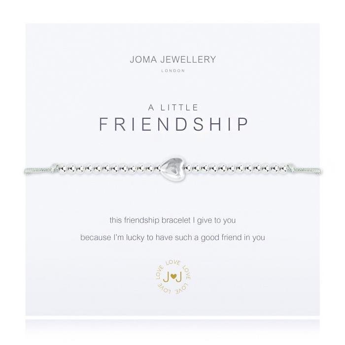 A Little Grey Friendship Bracelet