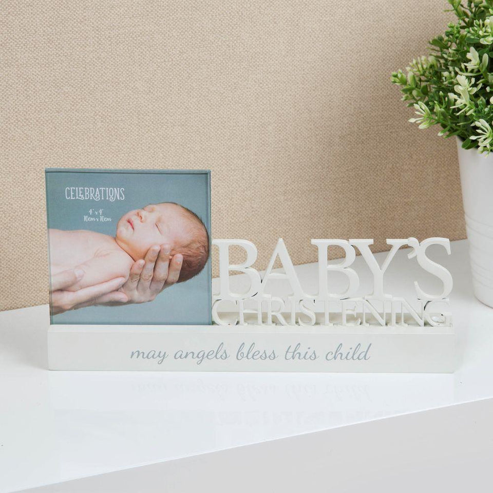 Christening Celebrations Photo Frame