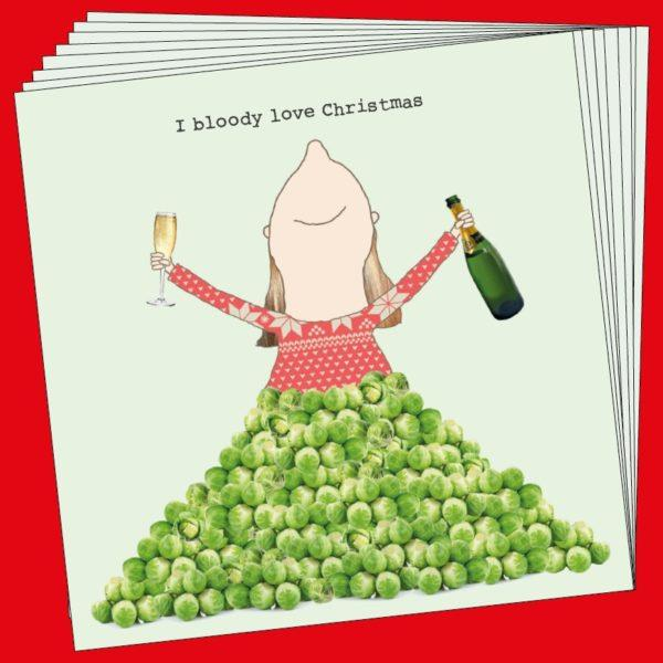 Sprouts Love Christmas Cards Set