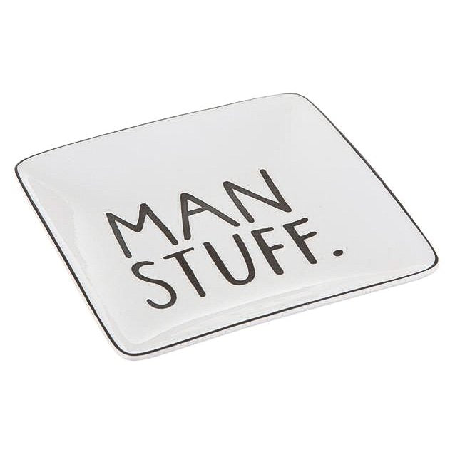 Man Stuff Trinket Dish