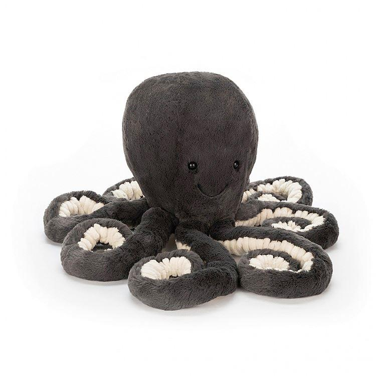 Little Inky Black Octopus Soft Toy