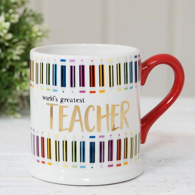 Colour Foiled Teacher Mug
