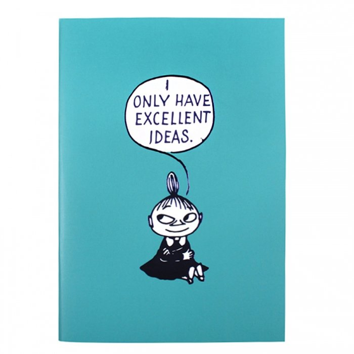 Moomin Little Ideas A6 Notebook