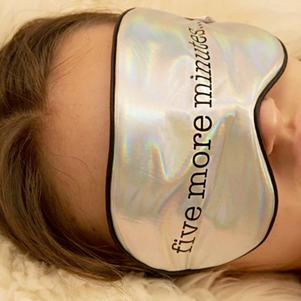 Ultra Soft Sleep Mask Five More Minutes