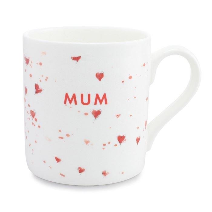 Love Hearts Mum Mug
