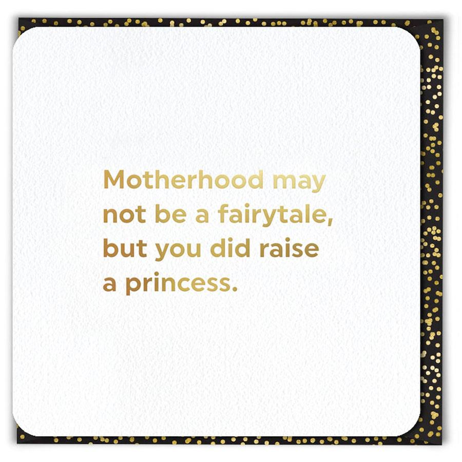 Raise Princess Mother's Day Card