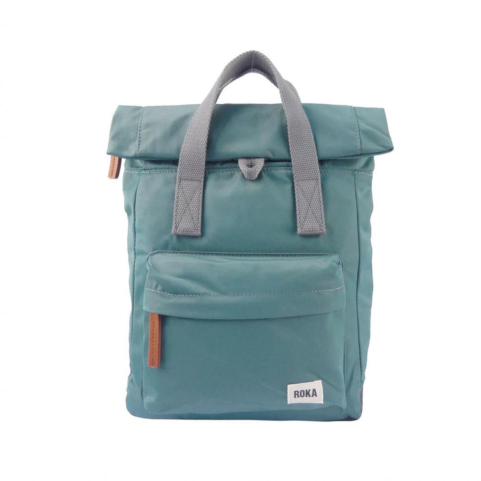 Sage Green Nylon Backpack