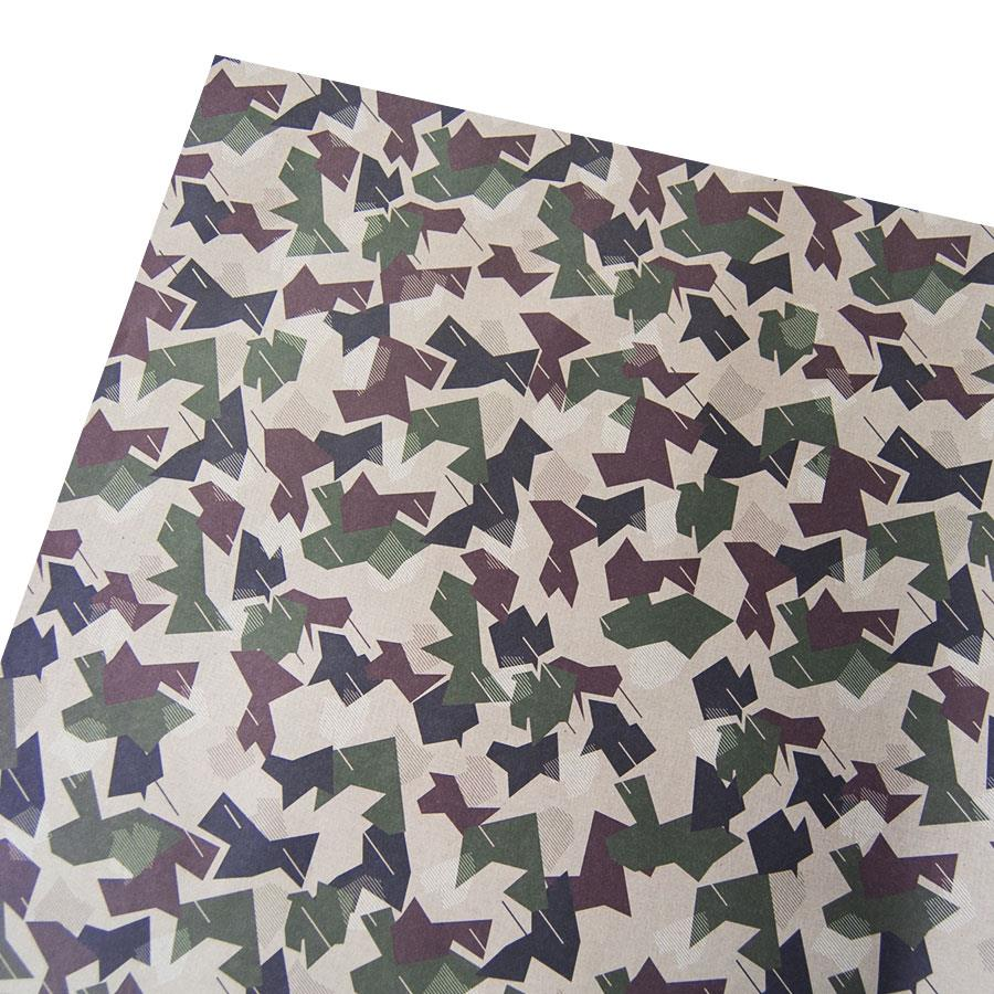Camouflage Gift Wrapping Paper
