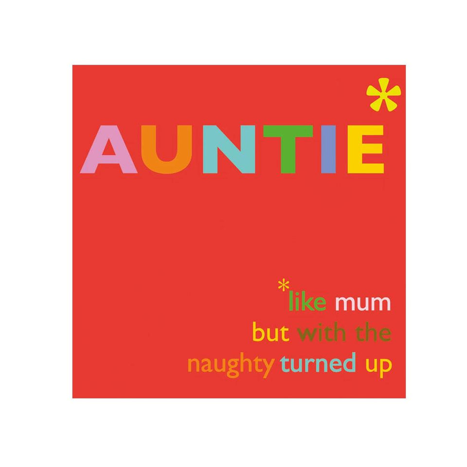 Auntie Like Mum Card