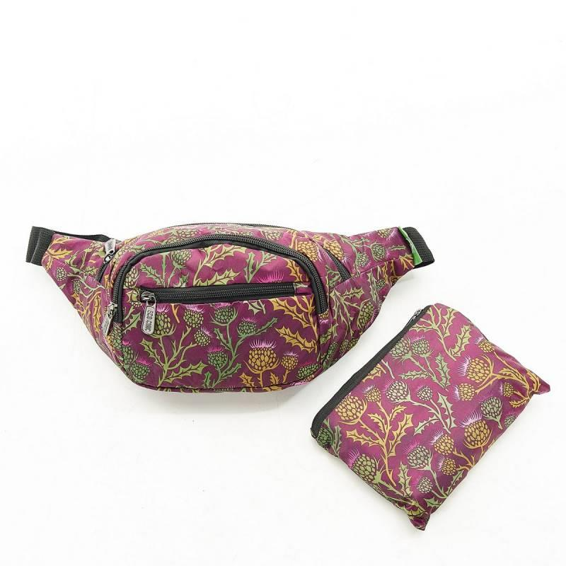 Purple Thistle Bum Bag