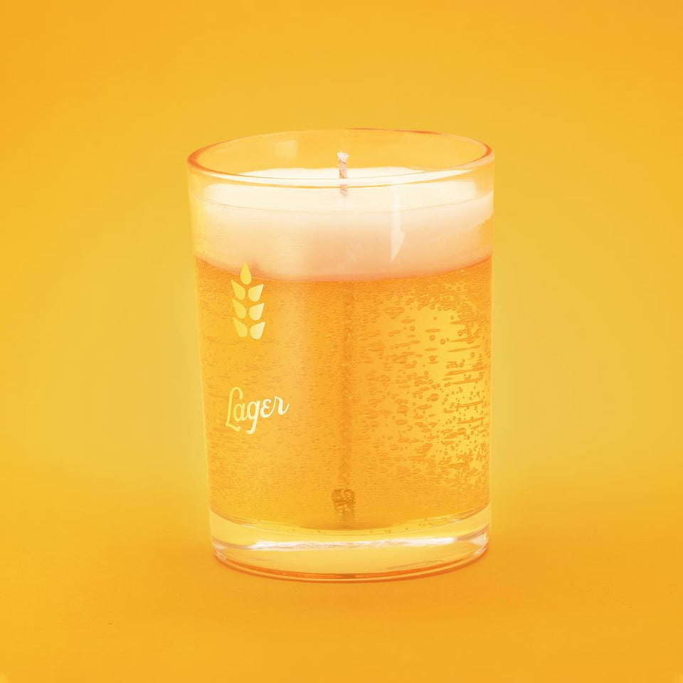 Lager Beer Candle
