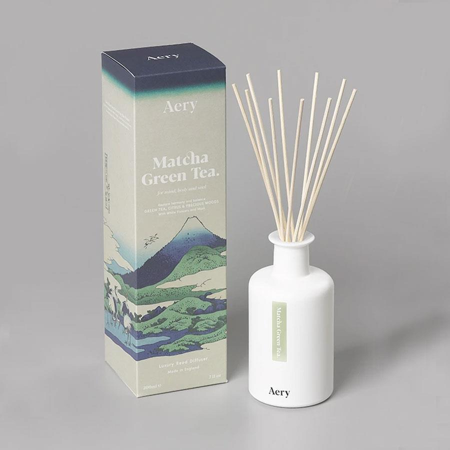 Matcha Green Tea Reed Diffuser