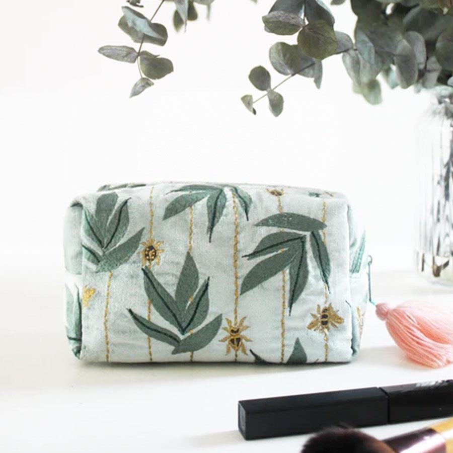 Eden Green Insects Cosmetic Bag