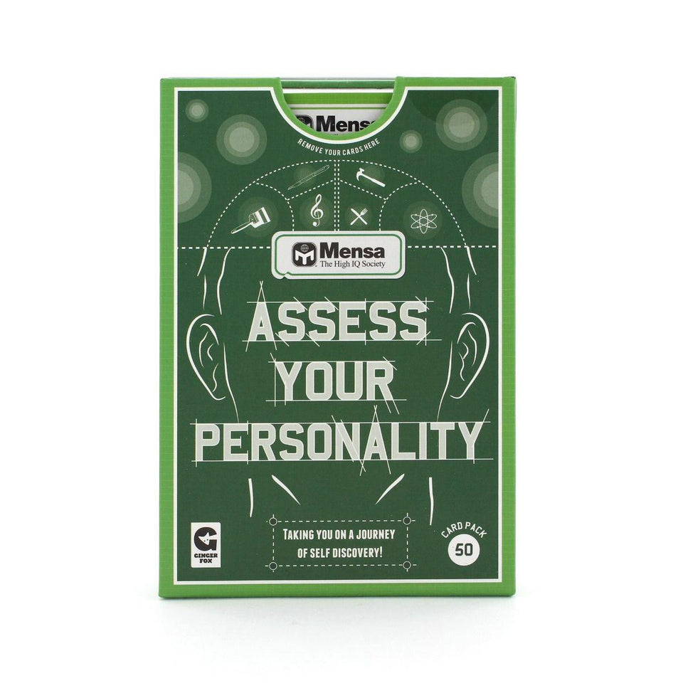 Mensa Assess Your Personality Game
