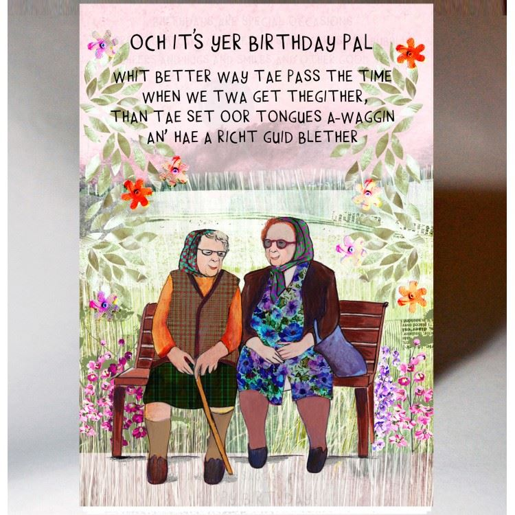 Birthday Blether Card
