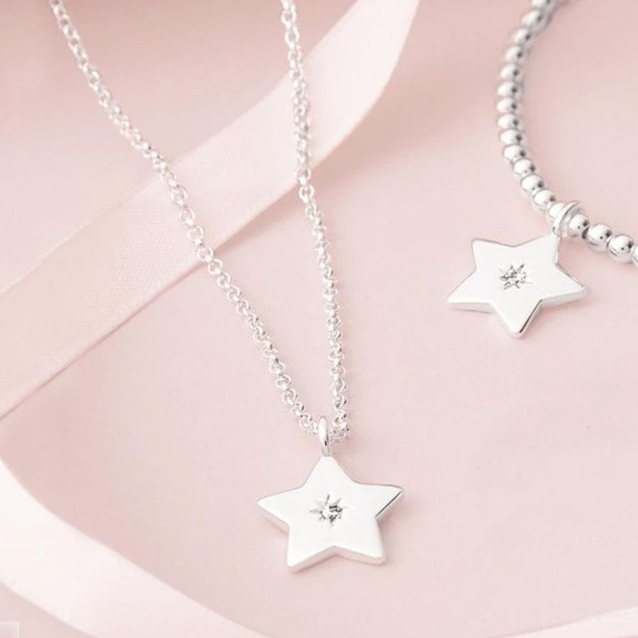 A Little Fabulous Friend Star Pendant Necklace