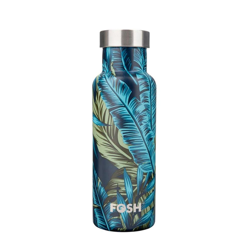 Palm Print Vital Style Water Bottle