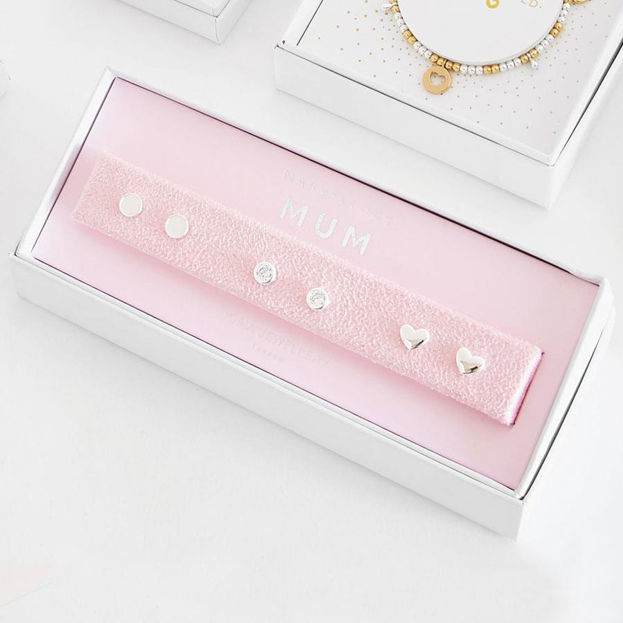 Marvellous Mum Stud Earrings Gift Box Set