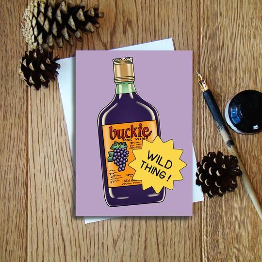 Buckie Wild Thing Card