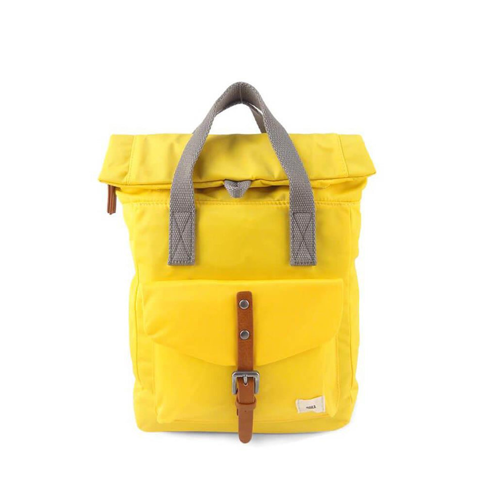 Mustard Nylon Backpack