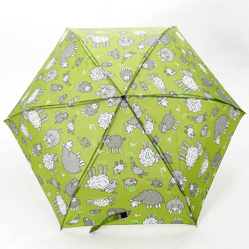 Green Sheep Mini Umbrella