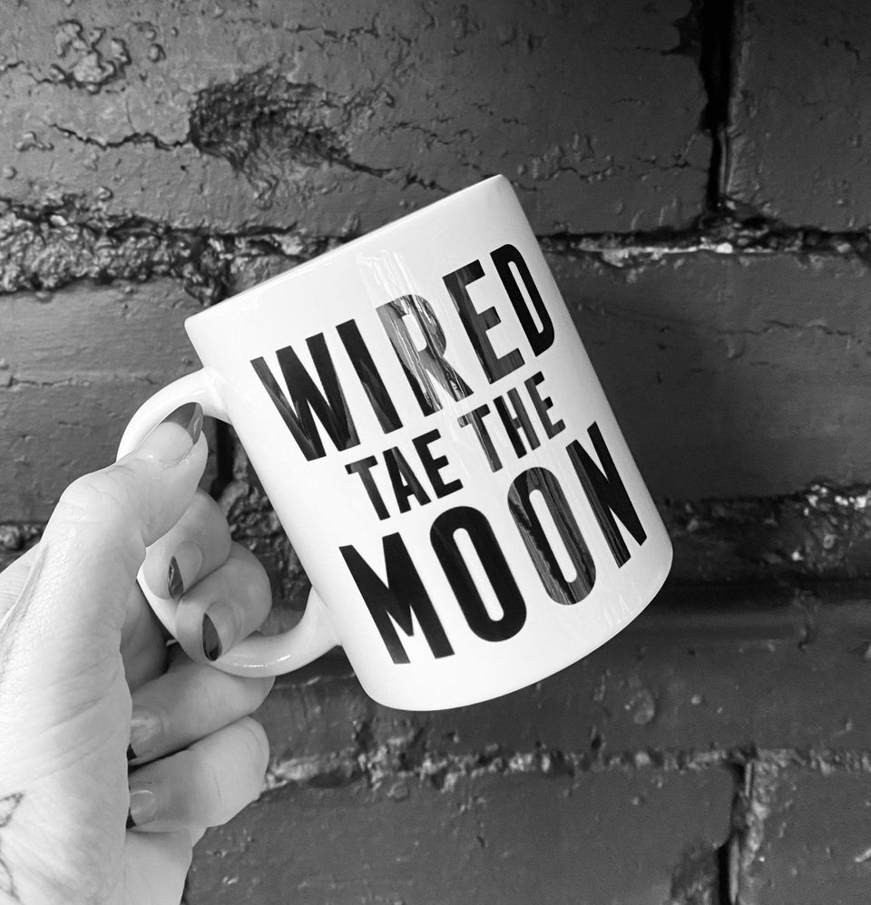 Wired To The Moon Mug