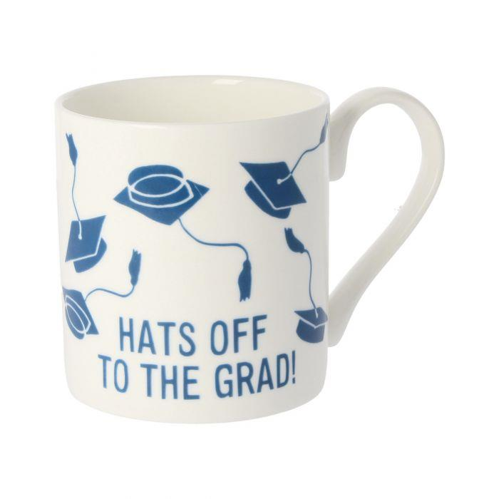 Hats Off to The Grad Ceramic Mug