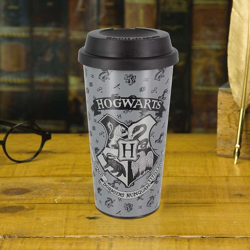 Hogwards Plastic Travel Mug