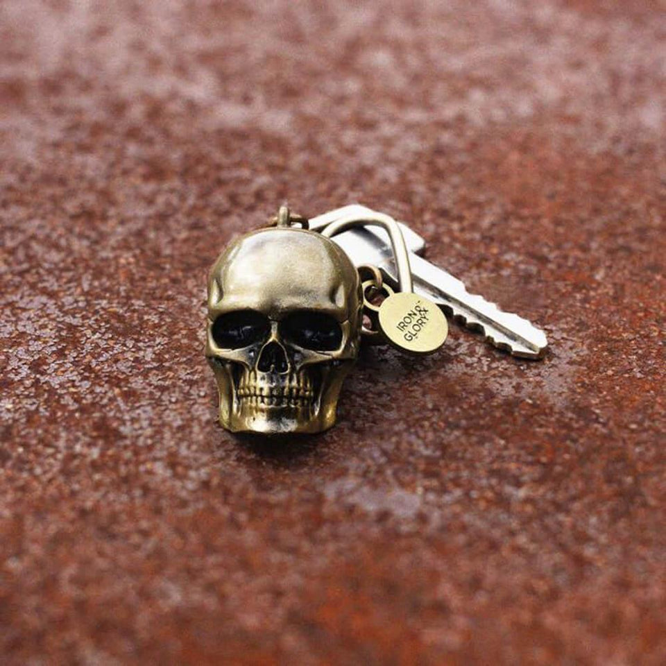 Dead Ringer Skull Key Ring
