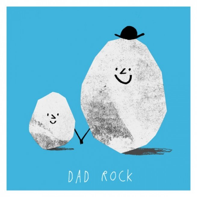 Dad Rock Card