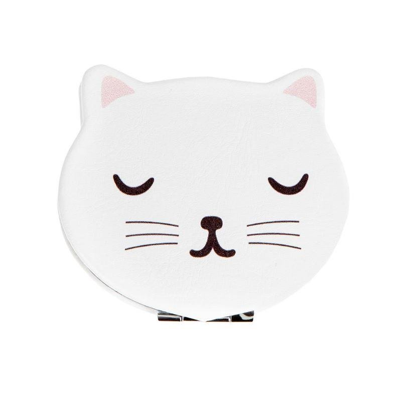 Cutie Cat Pocket Mirror Compact