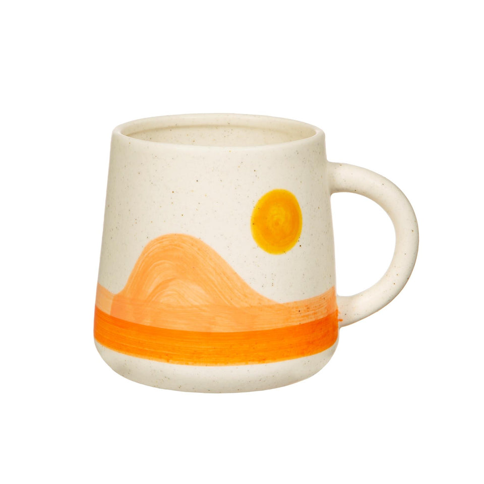 Orange and Yellow Sunset Mug