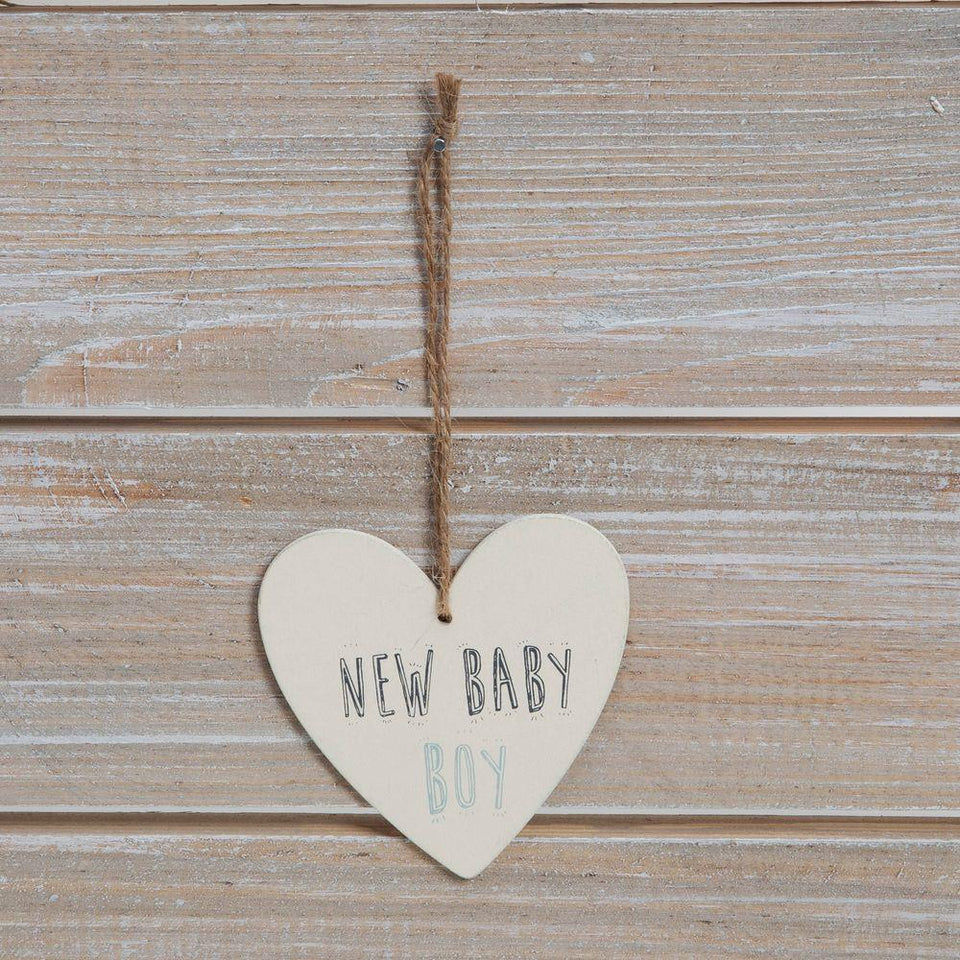 New Baby Boy Greeting Card & Plaque