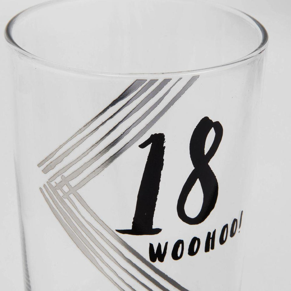 18 Luxe Birthday Pint Glass