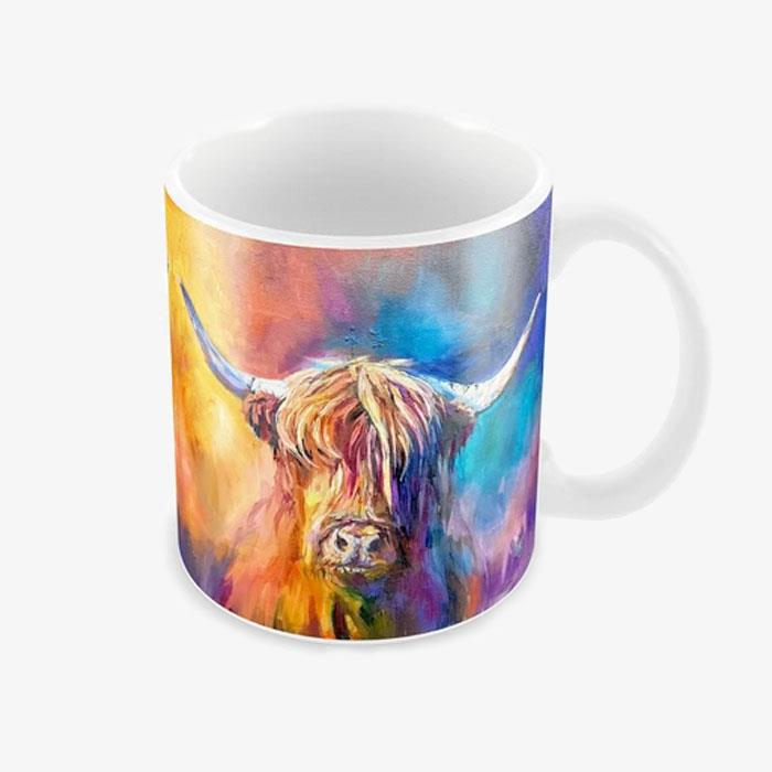 Sue Gardner Harris Cow Mug