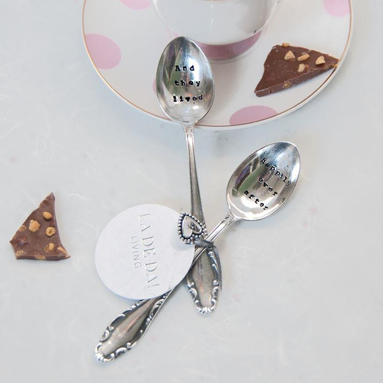 They Lived / Happily Ever After Tea Spoon | Set of 2